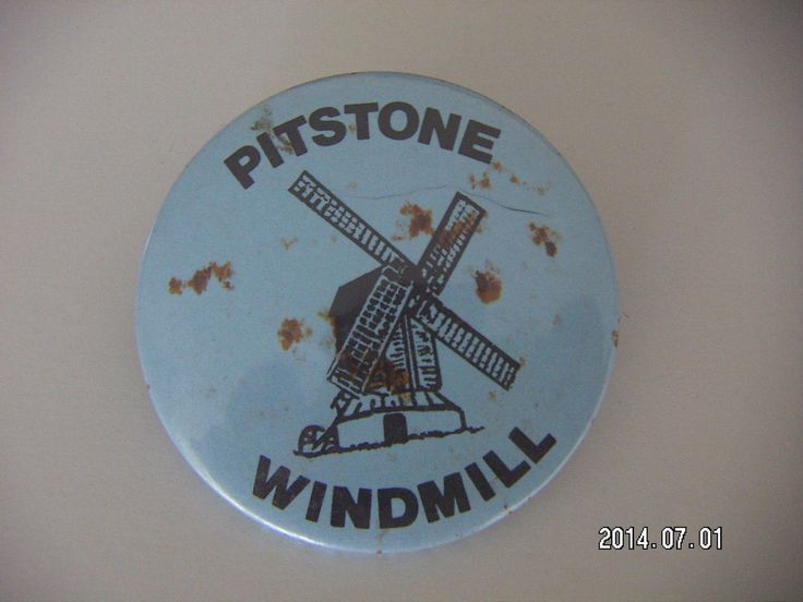 PITSTONE WINDMILL PICTURE BADGE | eBay