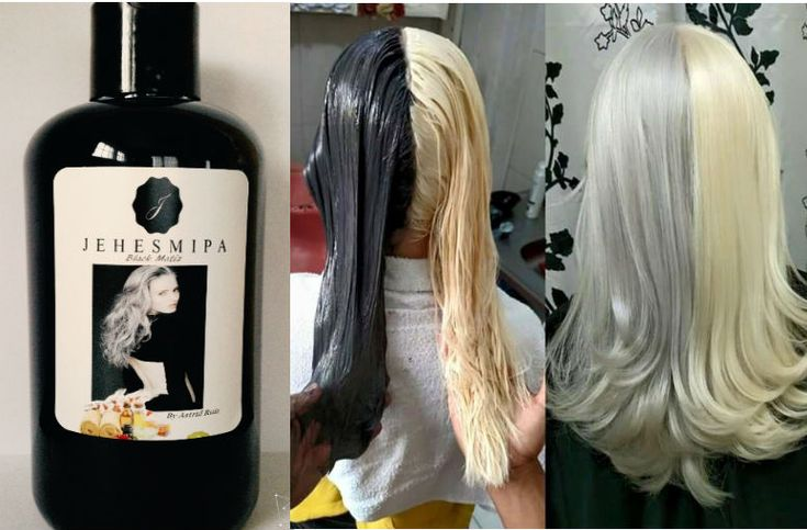 Corrige el cabello amarillo indeseable, con estas fórmulas de color que puedes realizar tu misma en casa.