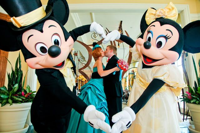 A fun Walt Disney World Wedding - it's helpful to see where they made the compromises so that they could still afford to get married there.