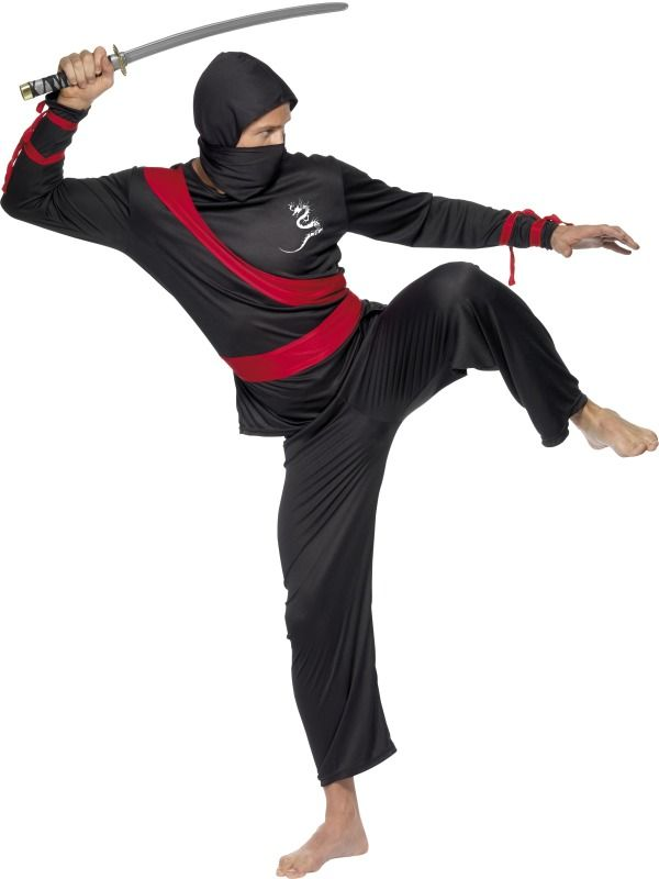 Ninja Warrior Costume : Get It On Fancy Dress Superstore, Fancy Dress & Accessories For The Whole Family. http://www.getiton-fancydress.co.uk/adults/ninjaadults/ninjawarriorcostume#.UvFx4Psry10