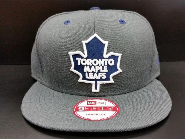 Toronto Maple Leafs Snapback Exclusive Custom Heathered Graphite