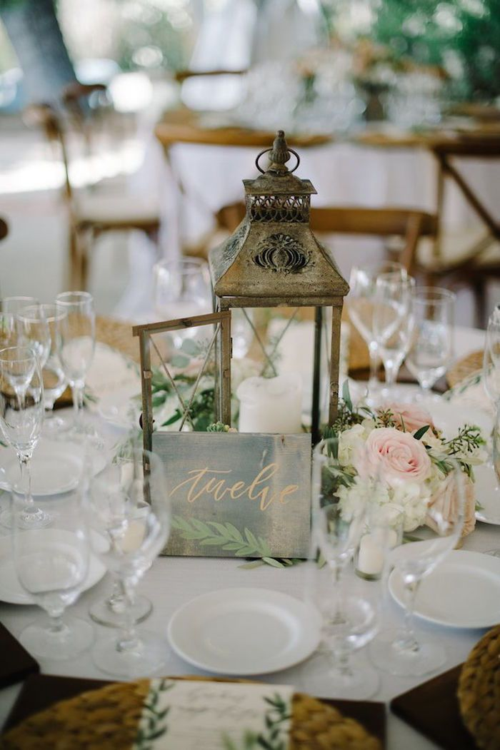 rustic wedding reception; Click to see more gorgeous wedding ideas; Featured: Tres Chic Affairs; Featured Photo: John Schnack Photography