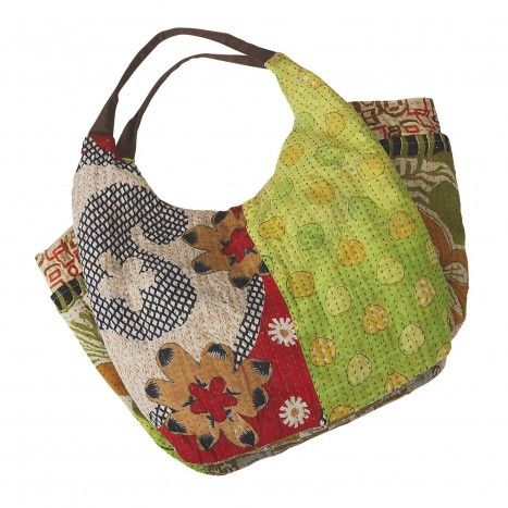 Sari Shop Slouchy Bag - Purses - Scarves & Bags - Products