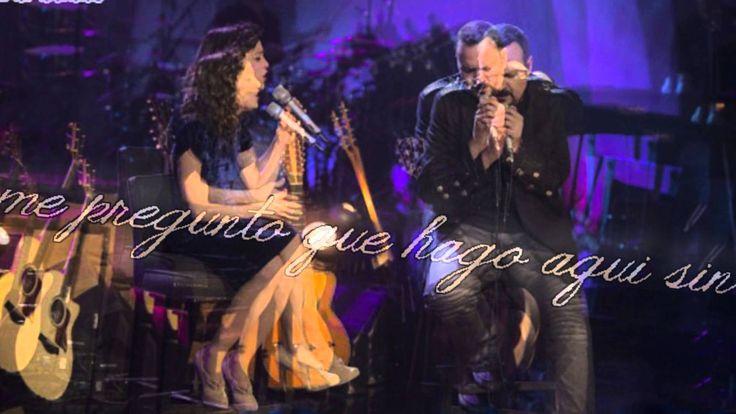 Pepe Aguilar feat. Natalia Lafourcade - Miedo - Letra ( Unplugged )