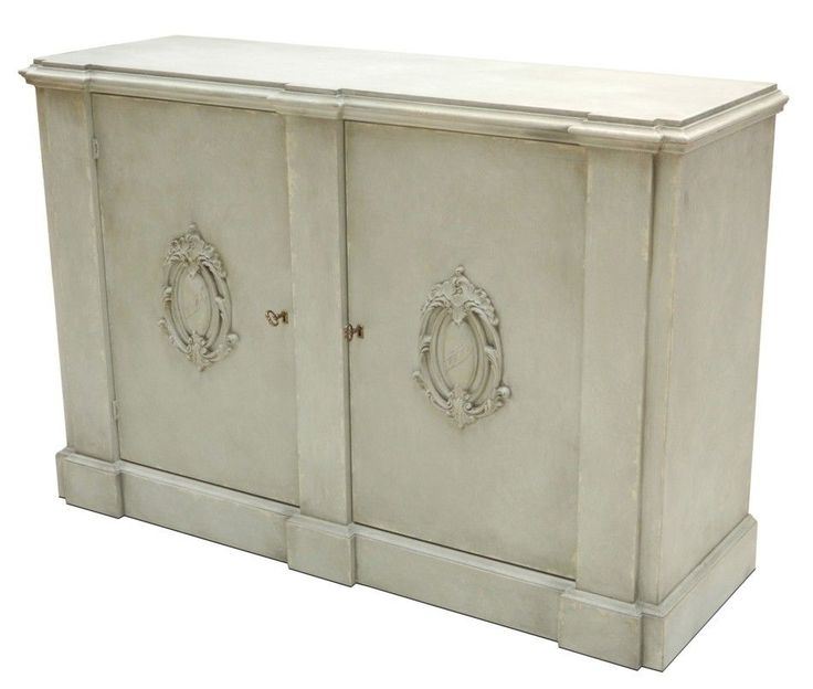 Italian Wall Cabinet Stucco White Finish Traditional Style Free Shipping New #Traditional