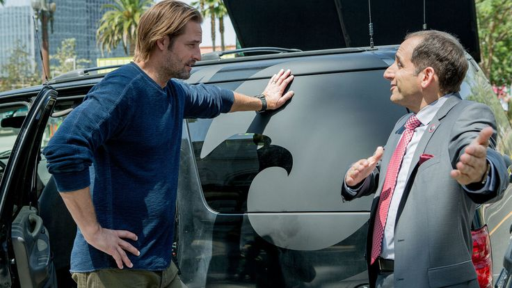 Josh Holloway and Peter Jacobson in season one, episode five of Colony.