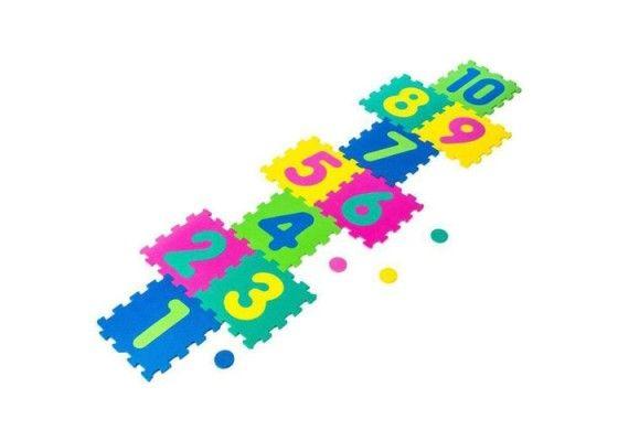 BeToys - 934740468 - Tapis d'ativités en mousse 3 en 1