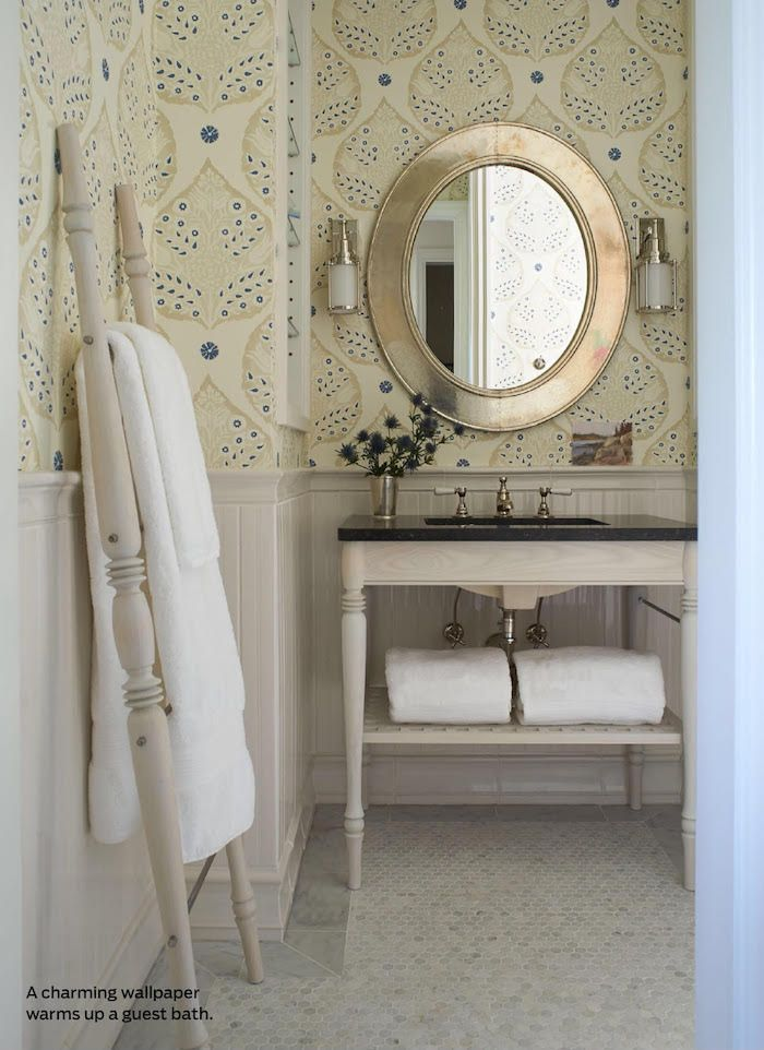 254 best wallcovering images on pinterest bathroom for Bathroom wallpaper wall coverings
