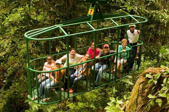 St. Lucia Aerial Tram (and other activities to do in St. Lucia)