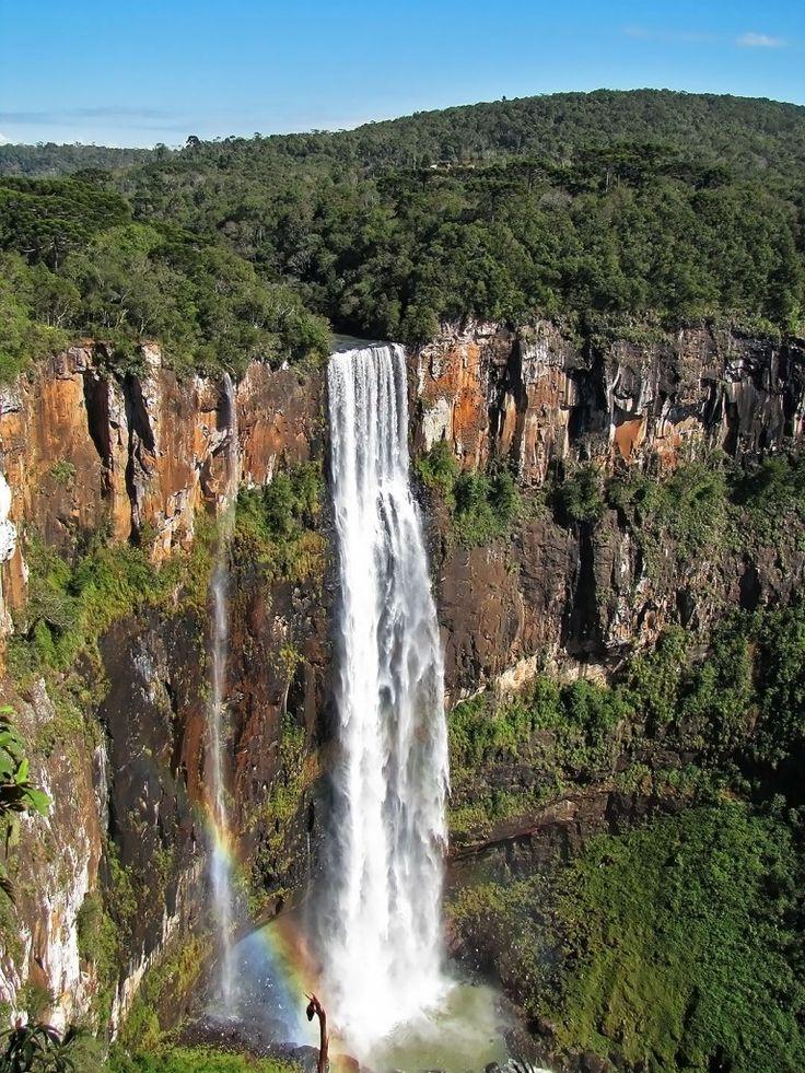 Salto São Francisco, maior queda d'água da Região Sul do Brasil - Foto: Wikimedia Commons