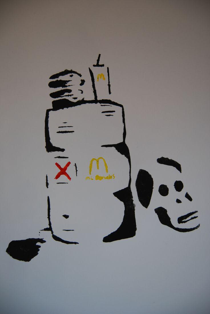 Banksy opdracht