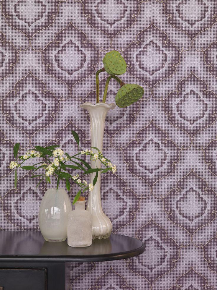 46 besten wohnzimmer-tapeten mit eleganten ornamenten - amira von, Wohnzimmer