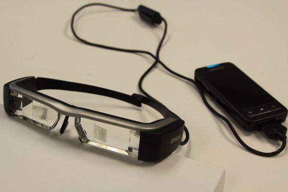 Moverio BT-300 de Epson sus nuevas gafas de realidad aumentada  Dispositivos…
