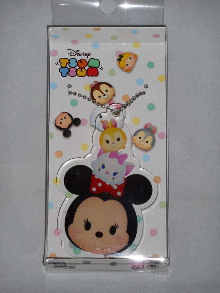 Disney Tsum Tsum Acrylic Key Chain (Minnie) Runa Japan