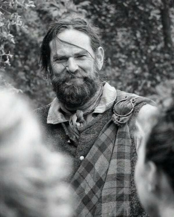 Murtagh in Outlander and Dragonfly in Amber. #DuncanLacroix brought Murtagh to life for me.  He quickly became one of my favorite characters!