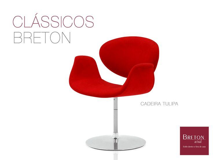 Você sabia que o universo Breton possui móveis clássicos e atemporais? A cadeira Tulipa, projetada em 1965, é um exemplo de design de mobiliário que continua moderno com o passar do tempo: http://bit.ly/1EZPg6z #BretonActual #Throwback #ClássicosBreton