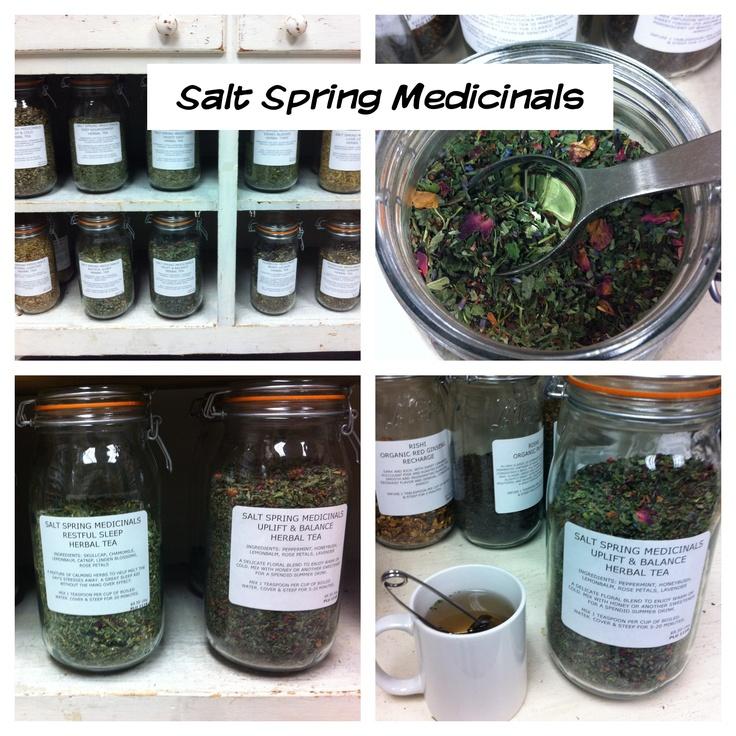 Salt Spring Medicinals ~ where we buy our teas!