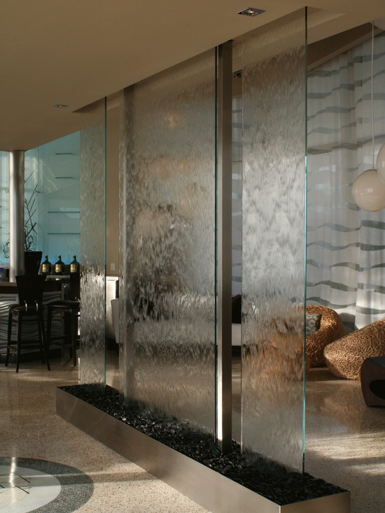 Entry Indoor Waterwall Hotel Design Pictures Remodel
