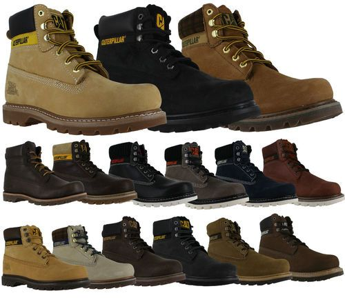 Caterpillar Colorado Men's Work Lace-up Ankle Boots, free postage on our website. http://www.shoestationdirect.co.uk/caterpillar-colorado-mens-classic-work-style-lace-up-ankle-boots/