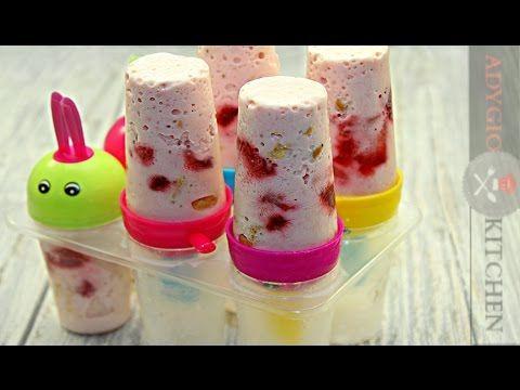 Cum se face Inghetata cheesecake cu capsuni | Adygio Kitchen - YouTube