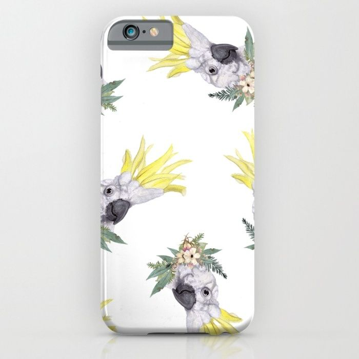 Feathers & Petals iPhone & iPod Case by The Willow Wood Studio   Society6