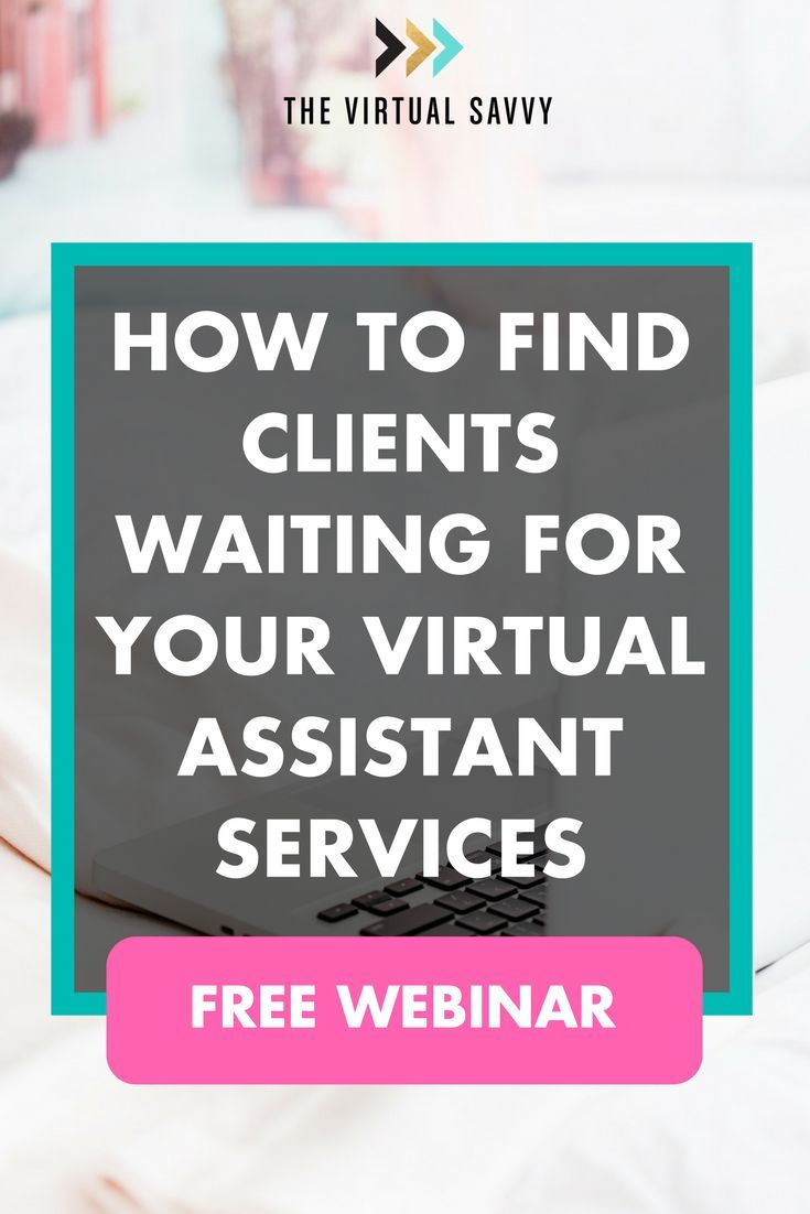 Become a booked out Virtual Assistant without Any previous VA work experience. Here's what you'll learn during this FREE webinar: How to find thousands of clients waiting for your services. How you can quickly earn 100k or more working at home as a virtual assistant. What trait paying clients are looking for (it's NOT virtual assistant experience). Learn how to start your own VA business in this webinar! #va #virtualassistant #marketing #socialmedia #blogging #branding