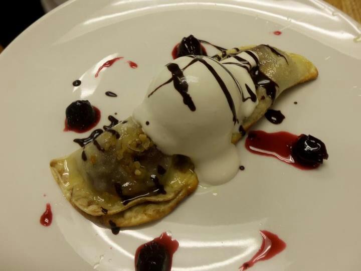 Hazelnut And Cherry Brown Butter Bar Recipe — Dishmaps