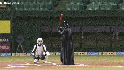 Star Wars and Baseball Combine in One Glorious GIF - Extra Mustard - SI.com
