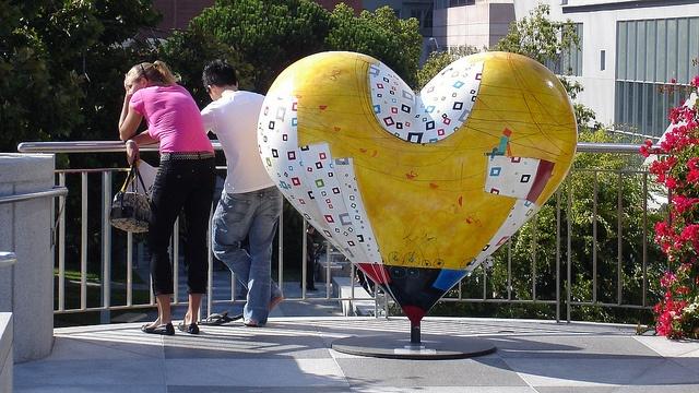 Love will tear us apart again, Yerba Buena, San Francisco, CA