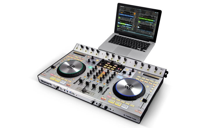I want this Numark 4-Trak controller so badly! Costs a G though, UGH!