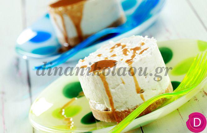 Cheesecake με μπανάνες | Dina Nikolaou