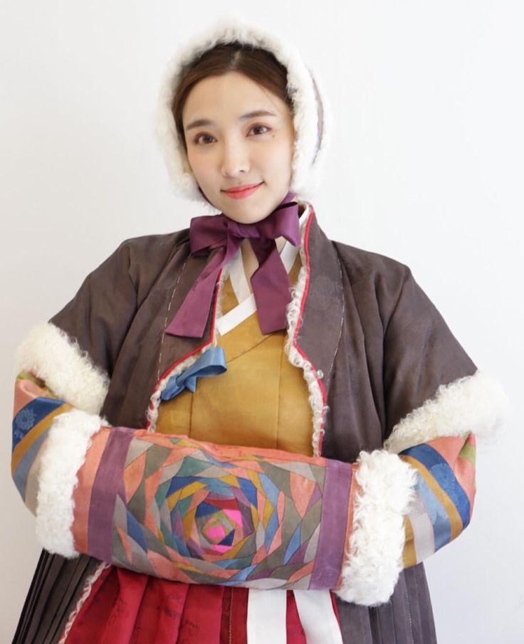 한복 Hanbok : Korean traditional clothes[dress] | #ModernHanbok #winter