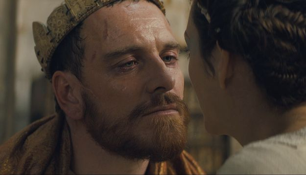 """And as far as capturing Macbeth's inner conflict, Fassbender is bringing it. 