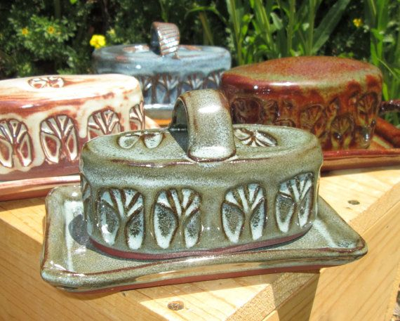 how to use a ceramic butter dish