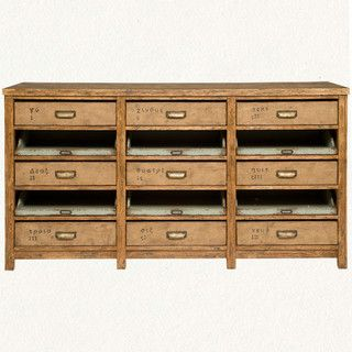 Nine-Drawer Console - eclectic - buffets and sideboards - by Terrain