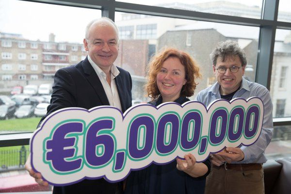 €6m #H2020 win for @tcddublin @scienceirel centres @connect_ie @ambercentre @AdaptCentre https://t.co/5nVvTYOObA https://t.co/iLbn8K5mYq