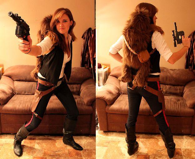 Female Han Solo.