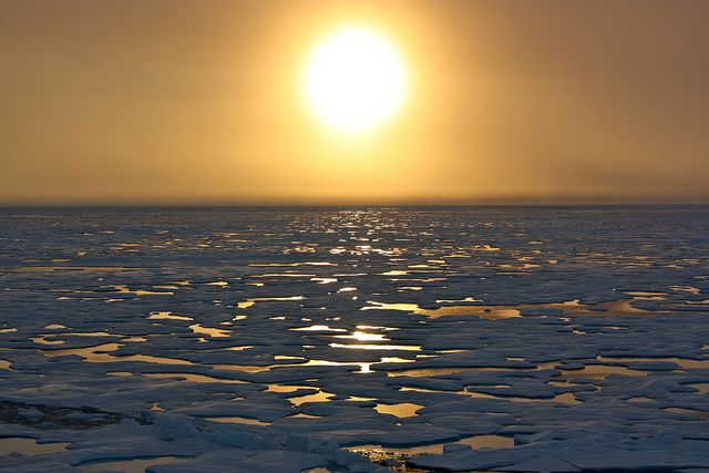 Scientific Method / Science & Exploration Arctic melt season over, leaving behind more ice than recent years After a stunning melt in 2012...