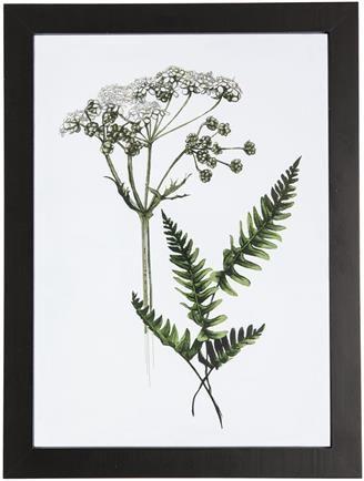 spring leaf bilde 30x40 gronn