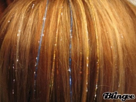 Hair tinsel - Something I've ALWAYS wanted to do!!!