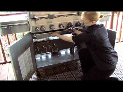 YouTube how to clean your weber gas grill! Save money, stop burning, food stays fresh!
