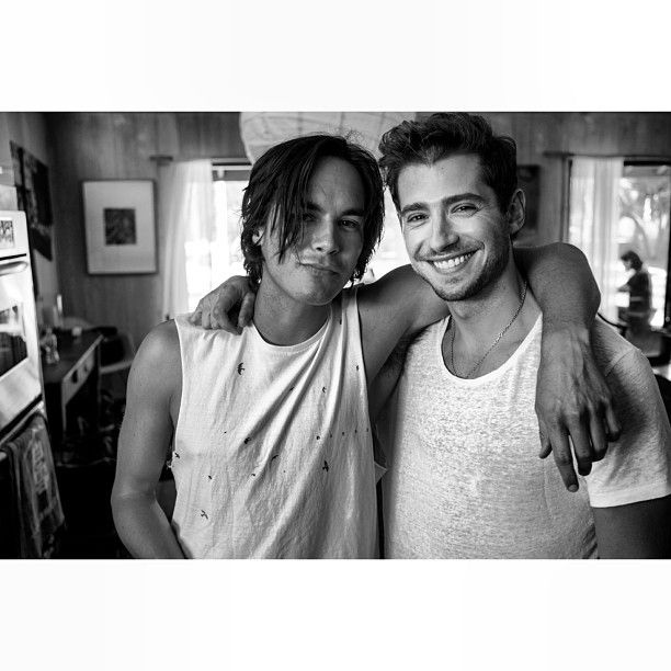 Tyler Blackburn and Julian Morris