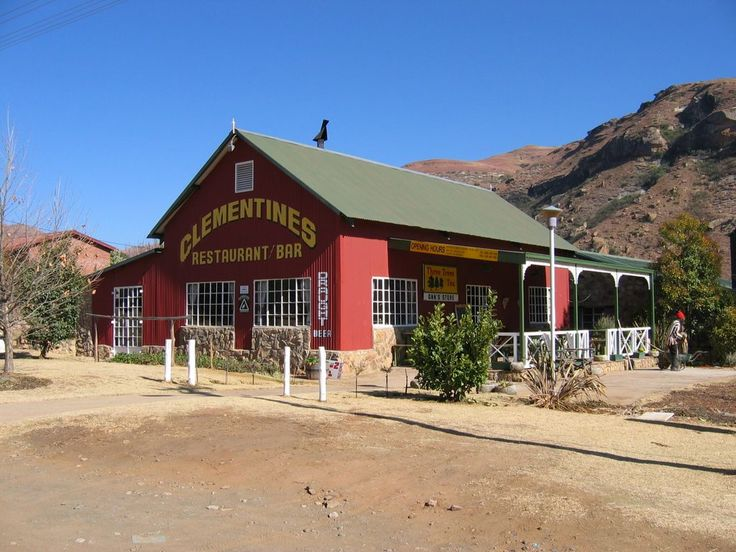 The 25 best small towns in South Africa | SAvisas.com - Clarens | Clementine's Restaurant.