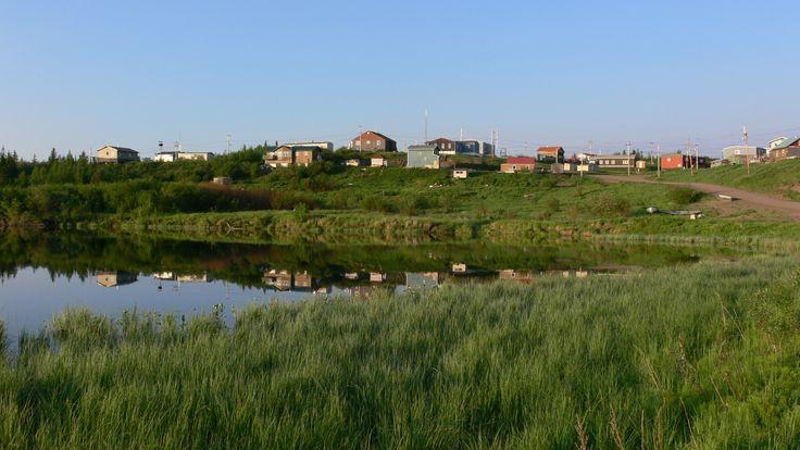 Tsiigehtchic village