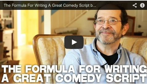 The Formula For Writing A Great Comedy Script by Steve Kaplan via http://www.filmcourage.com.  More video interviews at http://www.youtube.com/user/filmcourage  #screenwriting #screenwriters #comedy #romanticcomedies #film #movies #authors
