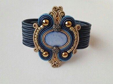 soutache - bracelet :)