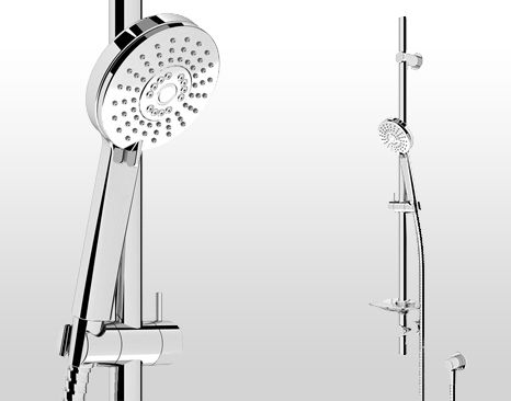 SPLASH 3 MULTI FUNCTION SHOWER KIT C/W ELBOW