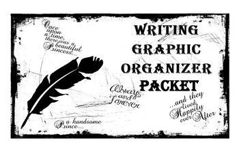 Writing Graphic Organizer Packet includes 5 graphic organizers that will guide your students with descriptive, expository, narrative, persuasive, and summary writing.