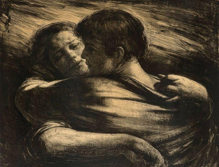 Odd Nerdrum - The Love Couple, 1976.