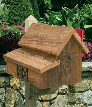 The Lighthouse Peddler - Rustic Barn Wooden Mailboxes - Wooden Mailbox…